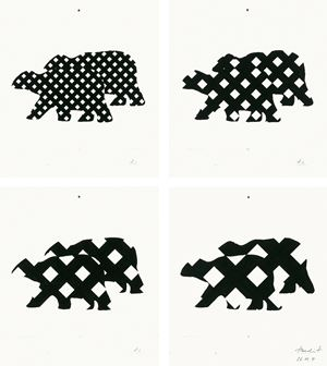 # 628 twicebears by Tomas Schmit contemporary artwork