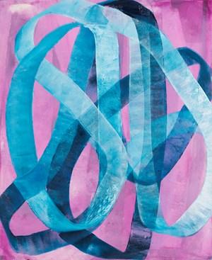 Blue Heart by Ildiko Kovacs contemporary artwork