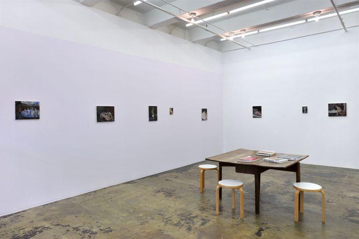 Exhibition view: Janice Nowinski, Recent Paintings,Thomas Erben Gallery, New York (9 Sep – 23 Oct 2021). Courtesy Thomas Erben Gallery.