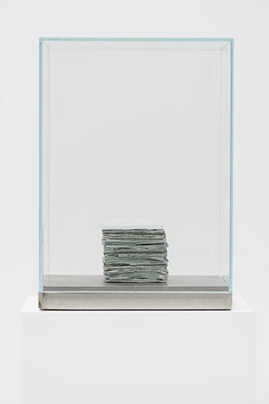 Coloured Word Box by Mark Manders contemporary artwork