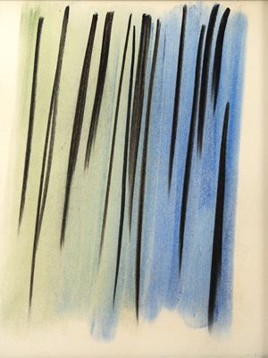 Composition abstraite by Hans Hartung contemporary artwork