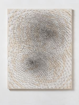 Doppelspirale 'Both' by Günther Uecker contemporary artwork