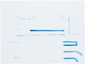 ohne Titel (Wirklichkeit erschlägt Kunst) 11 by Michael Krebber contemporary artwork