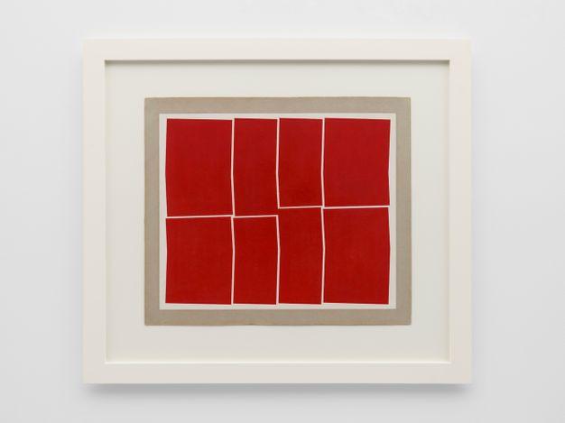 Hélio Oiticica, Untitled (1958). Gouache on cardboard. 55.1 x 64 cm. © Estate of Hélio Oiticica. Courtesy Lisson Gallery.