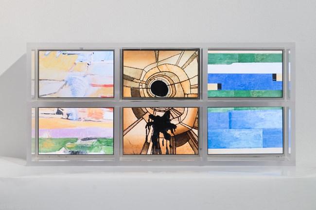 100 Years in 1 Minute (Richard Diebenkorn) by Hu Jieming contemporary artwork