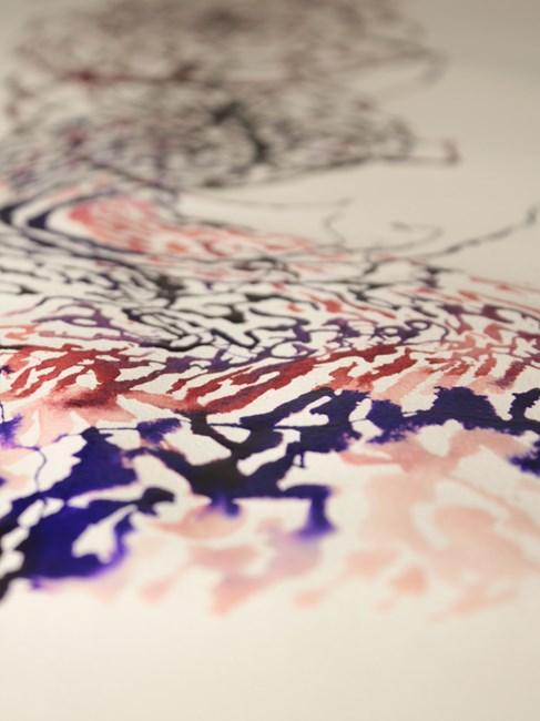 EMAKI / Wave by Takashi Ishida contemporary artwork