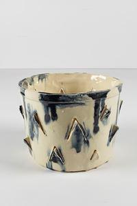 Untitled Small Planter 1 by Rashid Johnson contemporary artwork ceramics
