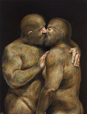 Skins - 02 by Wang Haiyang contemporary artwork