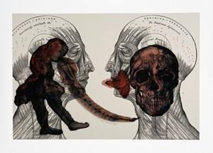 Eros by Nalini Malani contemporary artwork