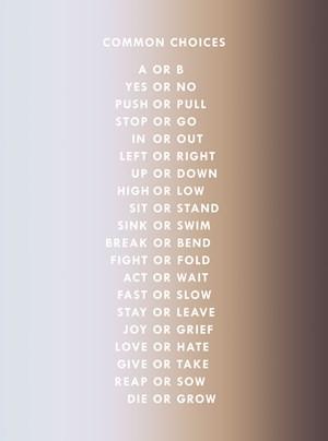 Choices by Dawn Ng contemporary artwork