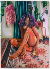 A Incandescência by Gisela McDaniel contemporary artwork painting