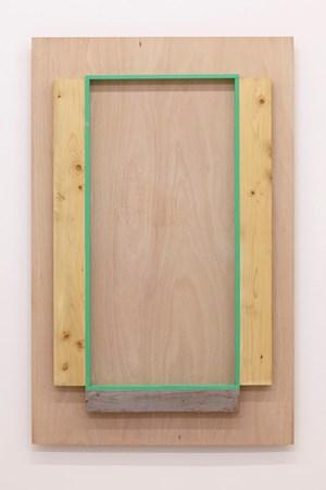 Aligned Scenery by Kishio Suga contemporary artwork