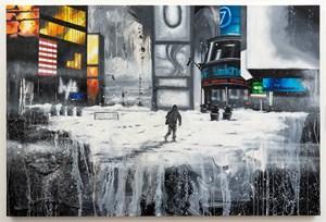 Times Square blizzard by Chris Daze Ellis contemporary artwork