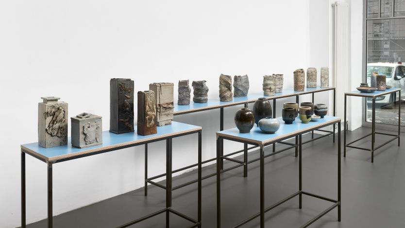 Exhibition view: Heidi Kippenberg,Classicism and Experiment, Brutto Gusto, Berlin (10 September–30 October 2021).