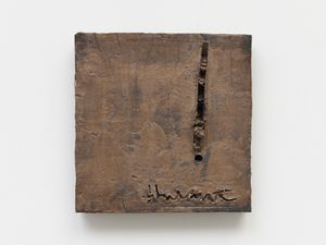 Signature Study by Theaster Gates contemporary artwork sculpture