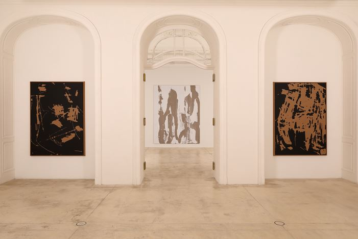 Exhibition view:Secundino Hernández,One More Time Is Good Enough, Galerie Krinzinger (20 May–1 August 2020). CourtesyGalerie Krinzinger.