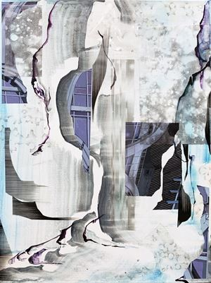 Trace by Hwang Won-hae contemporary artwork