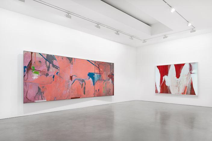 Exhibition view:Michael Müller,Anton im Bastrock, Galerie Thomas Schulte, Berlin (9 September–10 October 2020). Courtesy Galerie Thomas Schulte. Photo:Stefan Haehnel.