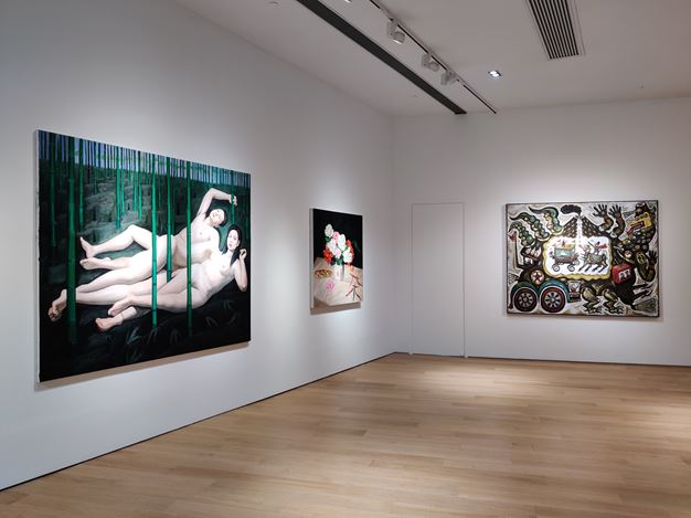 Exhibition view: Group Exhibition, Echo among Geographies, Tang Contemporary, Hong Kong (19 March–18 April 2020). Courtesy Tang Contemporary.