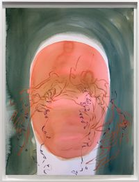 Self Portrait II (Bocaina) by Janaina Tschäpe contemporary artwork painting, works on paper, drawing