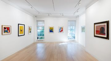 Contemporary art exhibition, Serge Poliakoff, Gouaches 1938–1969 at Cheim & Read, New York