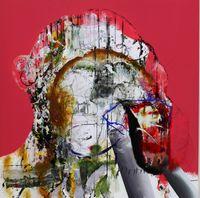 Cream Tea Pavilions by David Kim Whittaker contemporary artwork painting