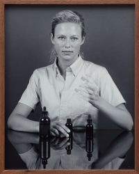 Woman, Eye Dropper by Elad Lassry contemporary artwork photography