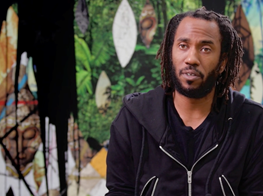 Rashid Johnson at Unlimited, Art Basel 2018