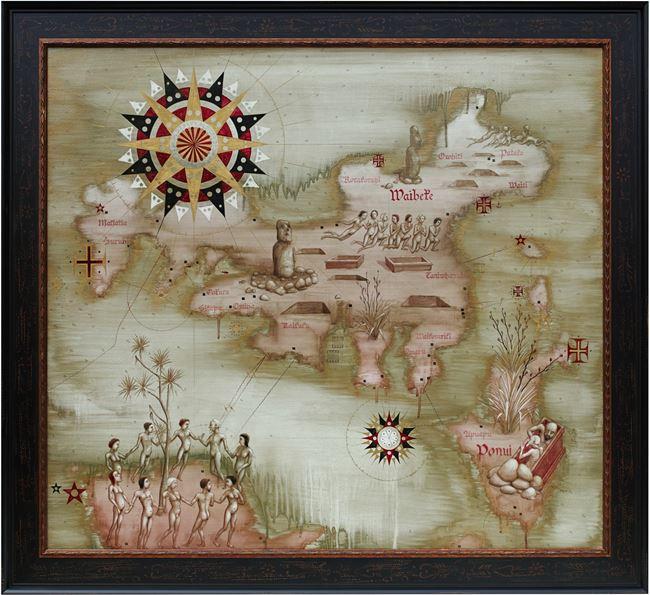 Waiheke by Roger Mortimer contemporary artwork