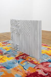 untitled 2020 (once upon a time) by Rirkrit Tiravanija contemporary artwork sculpture, textile