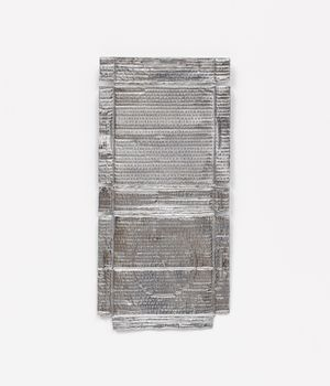 Untitled (Silver Relief) by Rachel Whiteread contemporary artwork