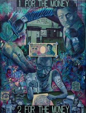 1 for the money by Koichi Enomoto contemporary artwork