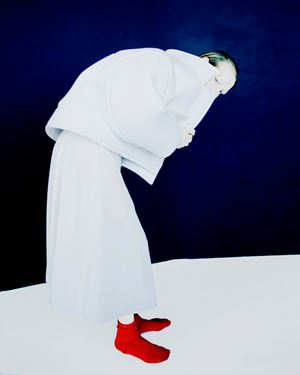 The Red Socks, Old Future by Erik Madigan Heck contemporary artwork