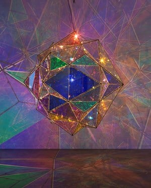 The exploration of the centre of the sun by Olafur Eliasson contemporary artwork