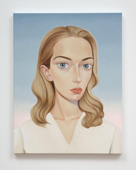 Jessie Sawyer, 2013 (NDE) by Peter Stichbury contemporary artwork