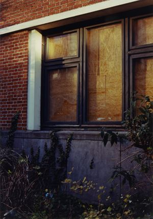Boarded Window by Samuel Laurence Cunnane contemporary artwork