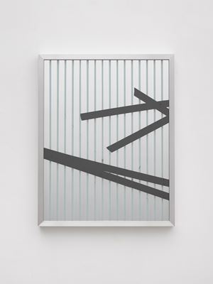 By physical or cognitive means (Broken Window Theory 1 July) by Ryan Gander contemporary artwork