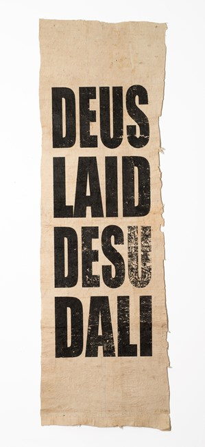 Untitled (DEUS/LAID/DESU/DALI) by Newell Harry contemporary artwork