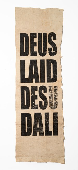 Untitled (DEUS/LAID/DESU/DALI) by Newell Harry contemporary artwork