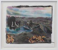 Silk Road #4 by Chen Nong contemporary artwork mixed media