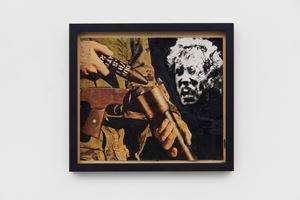 Rubber Bullet, Northern Ireland by Peter Kennard contemporary artwork