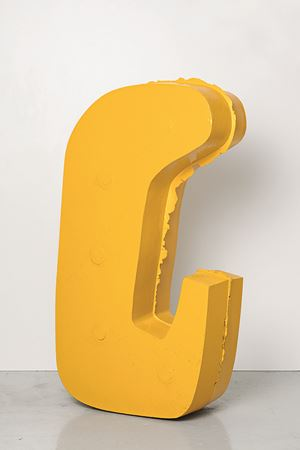 Mooring (standing) by Nairy Baghramian contemporary artwork