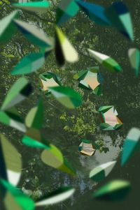 Sun Tunnels, Waitītiko Creek by Kate Woods contemporary artwork photography, print