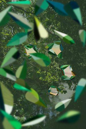 Sun Tunnels, Waitītiko Creek by Kate Woods contemporary artwork
