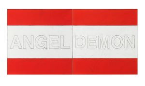 Untitled (Demon & Angel) by Matt Mullican contemporary artwork