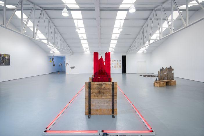 Exhibition view: Group exhibition, Fuera de Lugar, Sabrina Amrani, Sallaberry, 52, Madrid (9 September–13 November 2021). Courtesy Sabrina Amrani, Madrid.