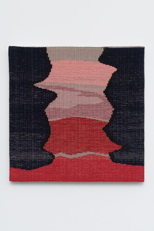 Red River by Miranda Fengyuan Zhang contemporary artwork textile