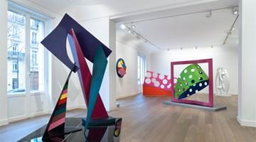 Contemporary art exhibition, Phillip King, Dans la couleur at Galerie Lelong & Co. Paris, 13 Rue de Téhéran, Paris