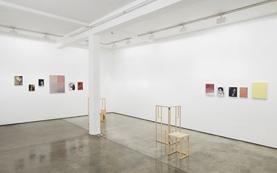 Paul P.,The Rex Prisms, 2016, Exhibition view at Maureen Paley, London. Courtesy the Artist and Maureen Paley. © Paul P.