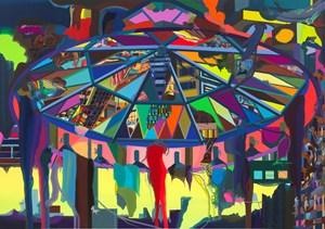 La Tente by Franz Ackermann contemporary artwork